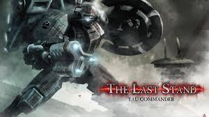 image tls tau commander art jpg dawn of war wiki fandom  tls tau commander art jpg
