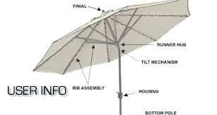patio umbrella pole repair umbrella repair kit patio umbrella replacement bottom pole awesome patio umbrellas parts