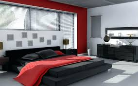 Black And Red Bedroom Wallpaper Red White And Black Bedroom