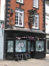 we then returned to the market place to the vaults which is perhaps uttoxeter s classic pub a narrow like frontage conceals a pub of great character