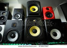 dj sound system images. high quality loudspeakers in dj shop.buy hifi sound system for recording studio. images