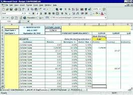 Cash Flow Statement Template Excel Free Weekly Format Download Daily