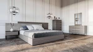 VENINI Aaron Grey Fabric headboard Bedroom Set – MODEL 1873393 ...