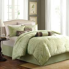 palm tree bedding 7 piece comforter set by home the palm tree bedding primark
