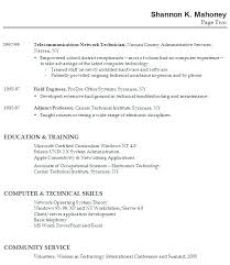 No Experience Resume Template Resume Sample For Students With No