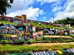 Baylor Street Art Wall 365 Things To Do In Austin Tx