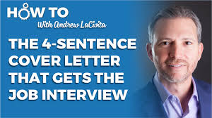 4 sentence cover letter the 4 sentence cover letter that gets you the job interview the