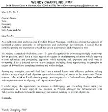 Project Manager Cover Letter Sample Junior Project Management Cover