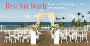 ever after a wedding destination wedding guide to non beach locations in the caribbean