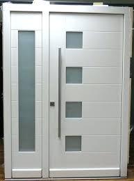 Schlage Modern Entry Door Hardware mid century front door hardware