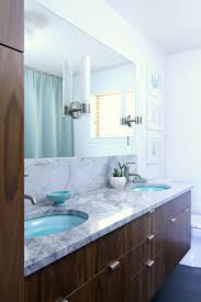 A Mid-Century Modern Inspired Bathroom Renovation - Before + After ...