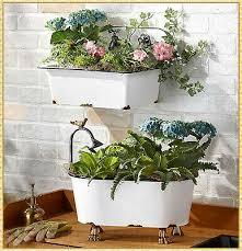 claw foot tub garden planter