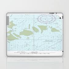 Florida Keys Nautical Chart Laptop Ipad Skin By Foreverartandfashion