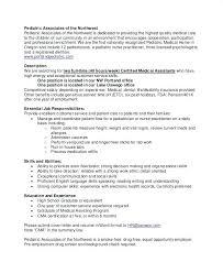 Pediatrician Resume Examples Pediatrician Resume And Salary Internal