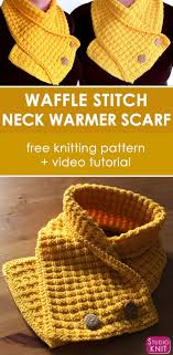 Free Knitting Patterns For Neck Warmers Awesome Ideas