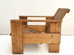 dutch 1950s gerrit rietveld crate chair by unknown manufacturer for