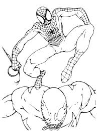 Small Picture Free Printable Spiderman Coloring Pages For Kids