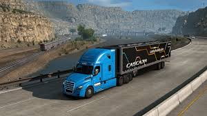 SCS Software's blog: The Freightliner Cascadia® has arrived!