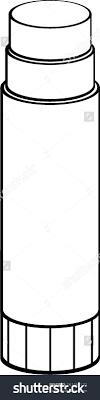 glue stick clipart black and white. Contemporary Clipart Inside Glue Stick Clipart Black And White
