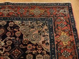 antique persian bakhtiari rug medallion c dark blue