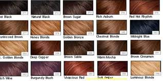Well Hair Color Chart Hair Color Shades Brown Hair Color Shades 2011