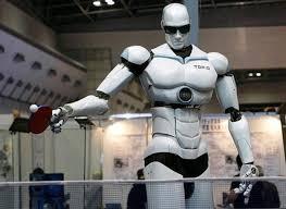 apple robot. apple robot