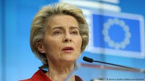 The trust you placed in me is confidence you placed in europe, mrs von der leyen, who is the first woman to be elected president of the european commission, said in a speech immediately after. Coronavirus Eu At Risk Of Being Overwhelmed Says Von Der Leyen News Dw 30 10 2020