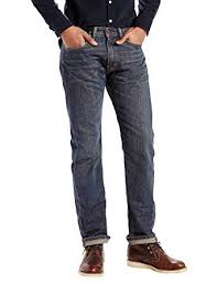 Levis Mens Mens 505 Regular Fit Jean Range 36 X 36