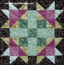 The Quilt Ladies Book Collection: Free Quilt Pattern Block, Flower ... & Free Quilt Pattern Block, Flower Star Quilt Pattern Adamdwight.com
