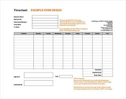 Timesheets Sample 60 Sample Timesheet Templates Pdf Doc Excel Free