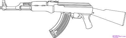 Small Picture Gun Coloring Pages Bestofcoloringcom Coloring Home