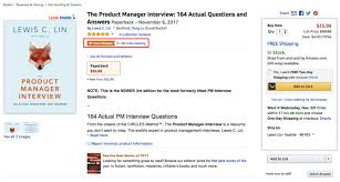 Kudos For The Product Manager Interview: Lewis C. Lin's New Book ...