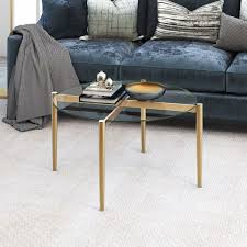 kadmos brass finish round coffee table