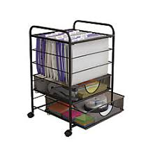 office rolling cart. brilliant cart neat life mesh rolling file cart with drawers black and office g