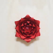 Rose Flower With Paper 2018 Large Giant Paper Flowers Flores De Papel Gigante Giant Rose
