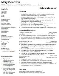 Network Administrator Resume Samples   VisualCV Resume Samples