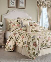 croscill daphne king 4 pc comforter set multi colors ivory ground