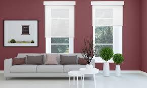 white romanstyle window blinds living room n88 white