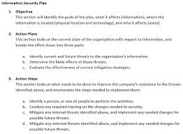 Information Security Plan Examples Incident Response Study Com