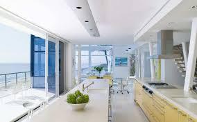 White Beach House Kitchen Home Design And Decor With Modern - White beach house interiors