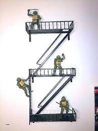 fire escape wall shelf hobby lobby shelves awesome nyc ladder urban