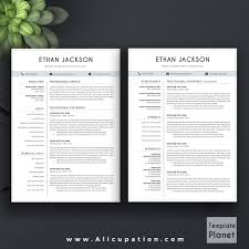 elegant resume template creative cv template 1 2 3 page cover allcupation professional resume template cv template 1 2 and 3 page resume