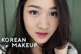 korean inspired makeup wardah one brand tutorial 3 0 kiara leswara you