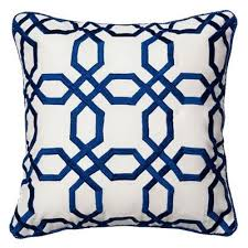 blue and white pillows. Brilliant White And Blue White Pillows E