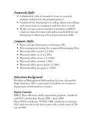 Cool Teamwork Skills Resume 79 For Free Resume Builder With