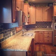 Painting Kitchen Tile Backsplash Inspiration Painted Subway Tile Backsplash Tutorial Reality Daydream