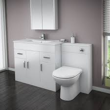 ... Large Size of Vanity:oak Vanity Unit Toilet Unit With Sink Back To Wall  Toilet ...