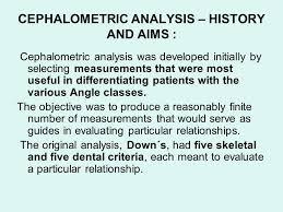 cephalometrics ppt video online 9 cephalometric analysis