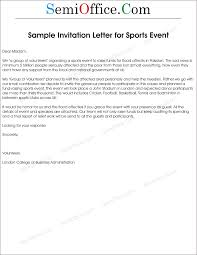 Invitation Event Sample Letter Of Invitation To Sports Event 3
