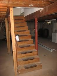 basement stairs. Basement Stairs Building